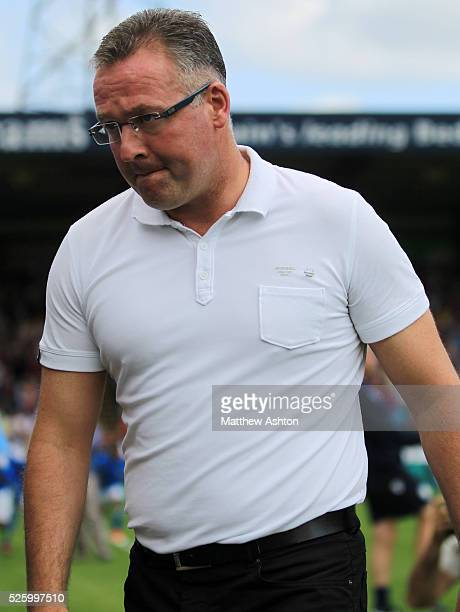 Paul Lambert manager / head coach of Aston Villa