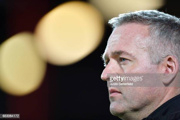 Paul Lambert Manager of Wolves ahead of the Sky Bet Championship match between Brentford and Wolverhampton Wanderers at Griffin Park on March 14 2017...