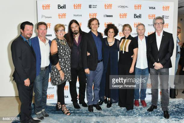 Paul Langlois Gord Sinclair Eleanor McMahon Rob Baker Nicholas de Pencier Jennifer Baichwal Melanie Joly Johnny Fay and Director and CEO of TIFF...