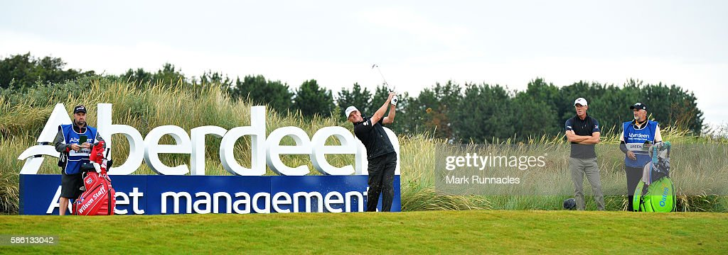 Aberdeen Asset Management Paul Lawrie Matchplay - Day Two