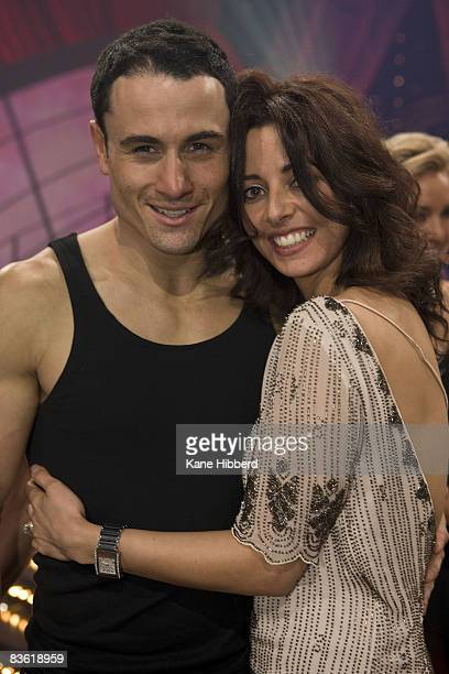 Paul Licuria and Barbara Hawley arrives for the grand final event for Dancing With The Stars 2008 at the Channel Seven studios on November 8 2008 in...