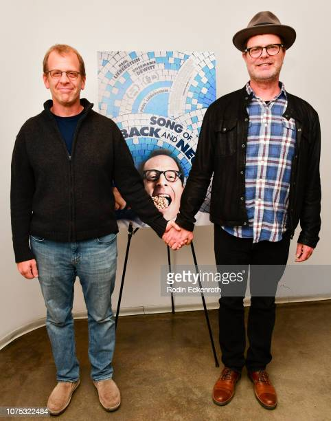 Paul Lieberstein and Rainn Wilson attend Song of Back and Neck Special Screening and QA at Laemmle's Monica Film Center on November 30 2018 in Santa...