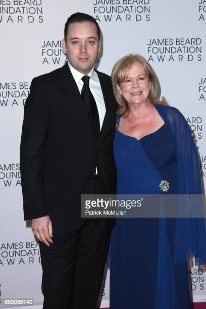 Paul Liebrandt and Susan Ungaro attend The 2009 JAMES BEARD FOUNDATION AWARDS at Avery Fisher Hall at Lincoln Center on May 4 2009 in New York City