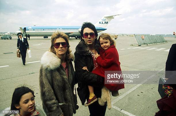 Paul Linda and Stella McCartney in United Kingdom in April 1998 In the mid70's