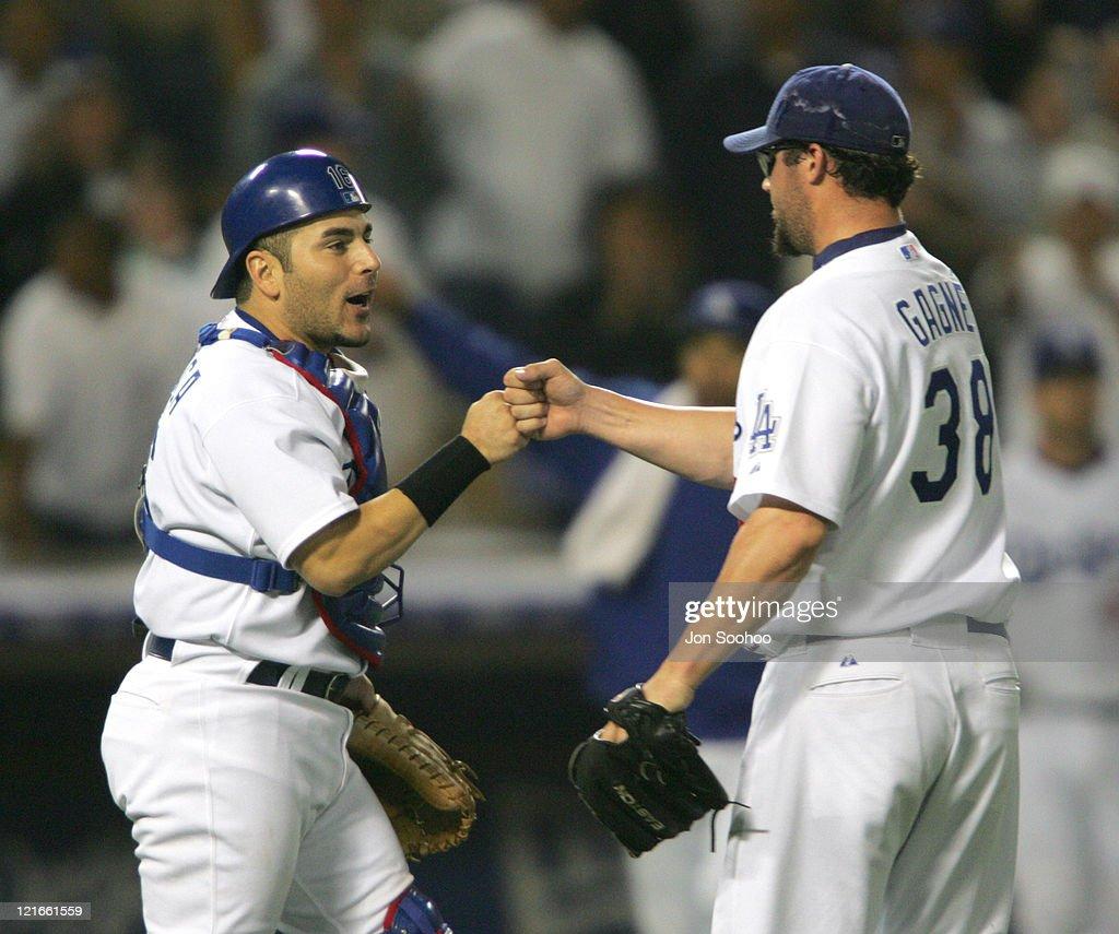 Arizona Diamondbacks vs Los Angeles Dodgers - July 6, 2004