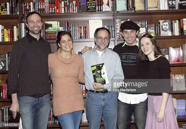 Paul Loesel Shoshana Bean Gregory Maguire author of Wicked Kristoffer Cusick and Stacie Morgain Lewis