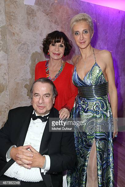 Paul Loup Sulitzer Danielle Evenou and Valerie Bardet attend the Best Awards 2013 Ceremony At Hoche Salons In Paris on December 16 2013 in Paris...