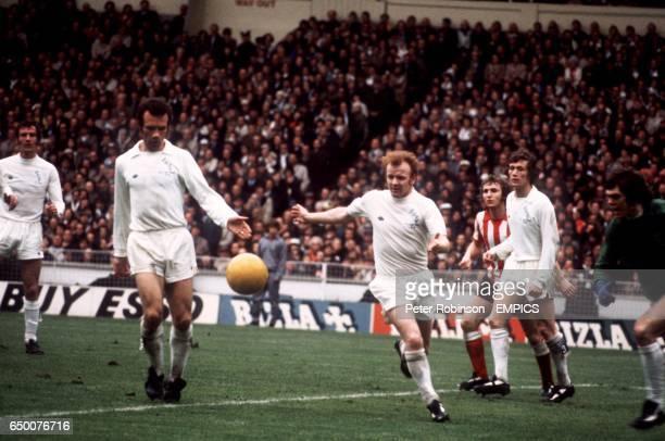 Paul Madeley Paul Reaney Billy Bremner all Leeds United Dennis Tueart Sunderland Trevor Cherry and David Harvey both Leeds United