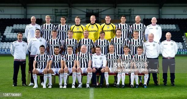 Paul Maithers, Marc McAusland, Lee Mair, Grant Adam, Craig Samson, Chris Smith, Steven Thompson, Sam Parkin and Gerry Docherty.. Alan Gray, Stephen...