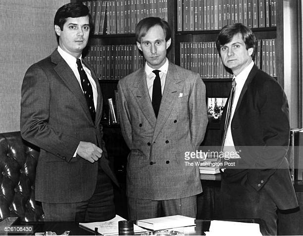 Paul Manafort Roger Stone and Lee Atwater young Republicans political operatives who have set up lobbying firms