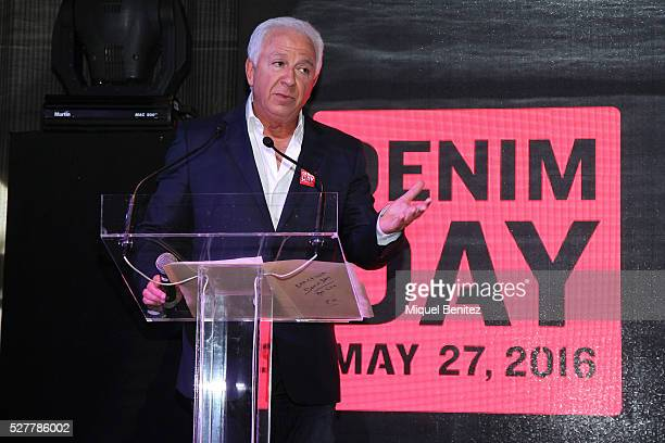 Paul Marciano attends the Guess Foundation Denim Day Charity at Salt Restaurant W Hotel on May 3 2016 in Barcelona Spain