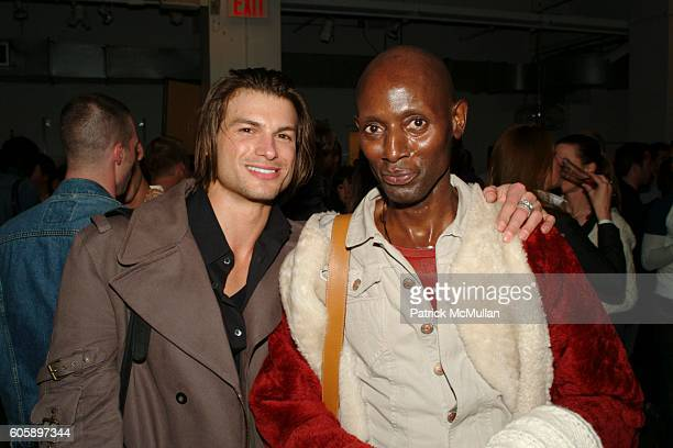 Paul Marron and Rodney Walker attend AMANDA LEPORE DOLL cocktail party at Jeffrey on April 11 2006 in New York City