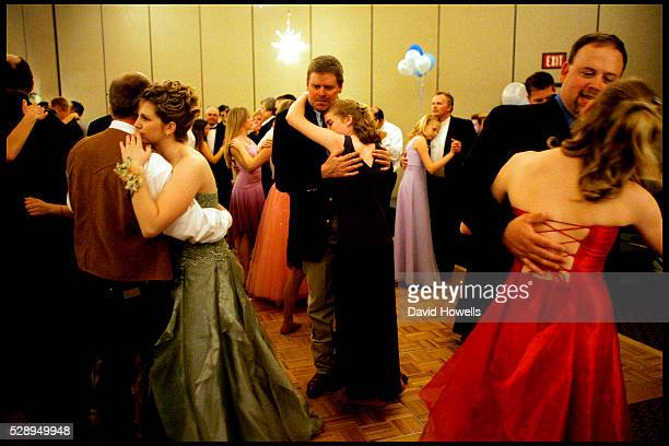 Paul Marrs and his daughter Kay dance at a Purity Ball in Spearfish South Dakota Purity Balls have grown in popularity as a way to encourage young...
