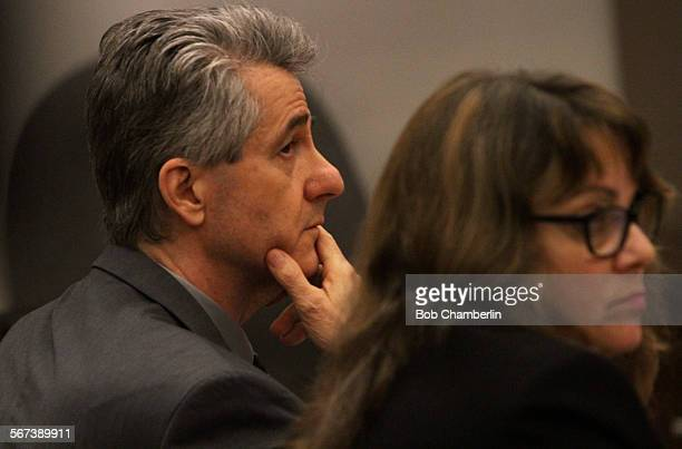 Paul Marshal Curry and his attorney Lisa Kopelman listen to prosecutor Ibrahim Baytiech as he gives opening statements at the start of Curry's trial...