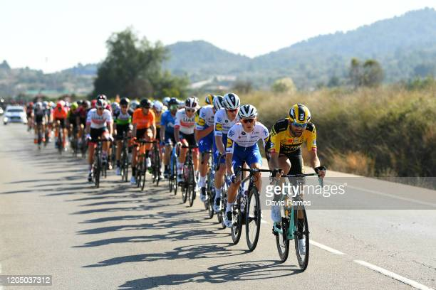 Paul Martens of Germany and Team Jumbo-Visma / James Knox of The United Kingdom and Team Deceuninck - Quick-Step / Rémi Cavagna of France and Team...