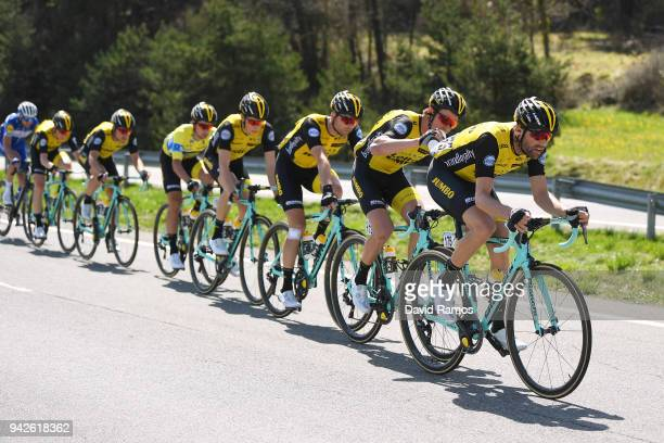 Paul Martens of Germany and Team LottoNL-Jumbo / Sepp Kuss of The United States and Team LottoNL-Jumbo / during the 58th Vuelta Pais Vasco 2018,...