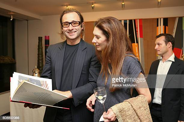 Paul Mathieu and attend HIGH TEA FOR THE PREMIERE OF GALERIE MARK HOSTED BY ALEXICO GROUP JACQUES GRANGE PIERRE PASSEBON at Gallerie Mark 992 Madison...