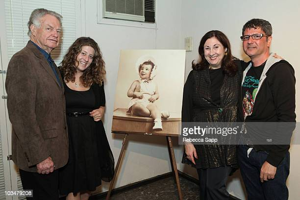 Paul Maxwell Melissa Balin Rochelle Balin and Michael Farhood attend Rochelle Balin's Surprise Birthday Fiesta at a private residence on May 2 2009...