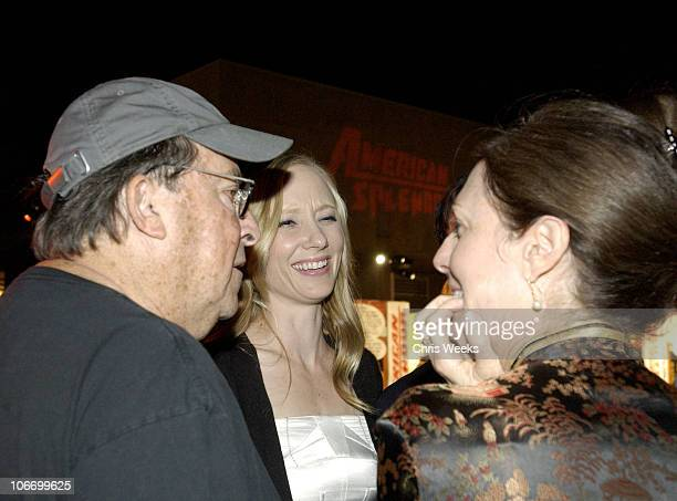 Paul Mazursky Anne Heche and HBO's Carrie Frazier