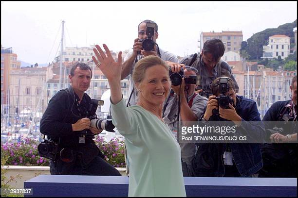Paul Mc Cartney in the streets of Cannes In Cannes France On May 09 2001Liv Ullmann