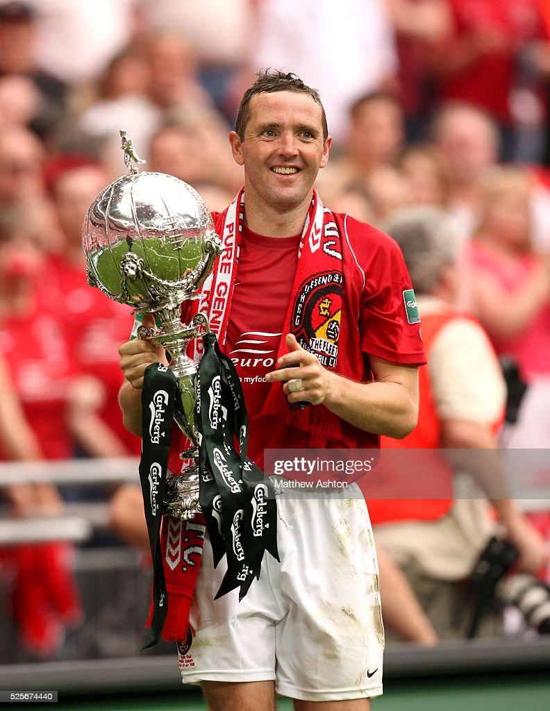 Soccer - FA Carlsberg Trophy Final 2008 - Ebbsfleet United vs. Torquay United : News Photo