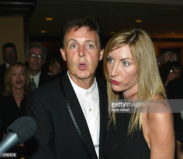 Paul McCartney And Heather Mills At Open HeartsClear Mines The 2nd Annual AdoptAMinefield
