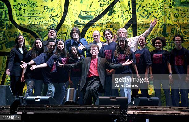 Paul McCartney and his band met with 17 members of the CityKids Foundation of New York prior to his two soldout performances at New York's Madison...