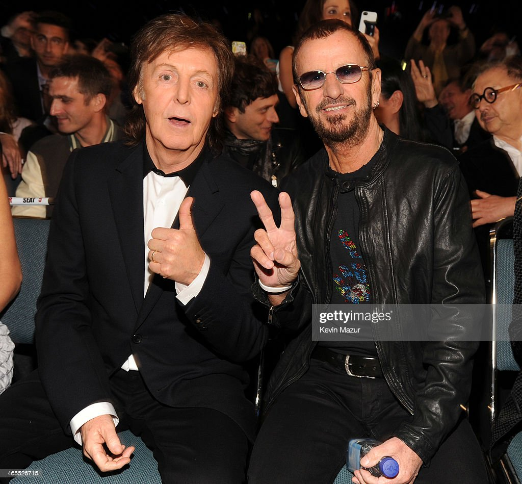 Paul McCartney And Ringo Starr Attend The Night That Changed America A GRAMMY Salute