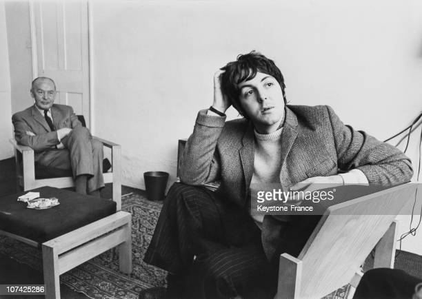 Paul Mccartney At London In England On December 27Th 1967