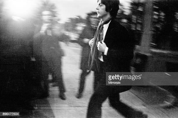 Paul McCartney attends The Brian Epstein Memorial Service held at the New London Synagogue at 33 Abbey Road London close to EMI Studios Picture taken...