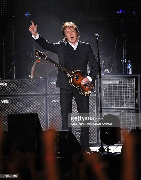 Paul McCartney brings the house down at Citi Field for his Summer Live '09 concert