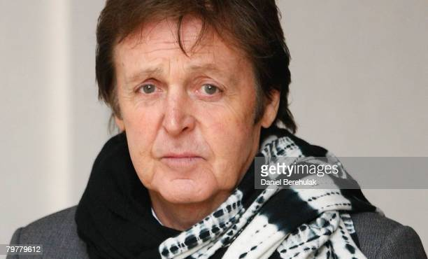 Paul McCartney departs from the High Court on February 15 2008 in London England Sir Paul McCartney and Heather Mills are attending the fifth day of...