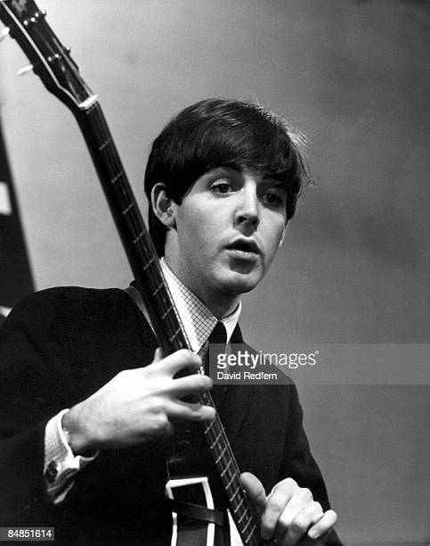 STARS Photo of Paul McCARTNEY and BEATLES of The Beatles performing at Alpha Television Studios Aston Birmingham