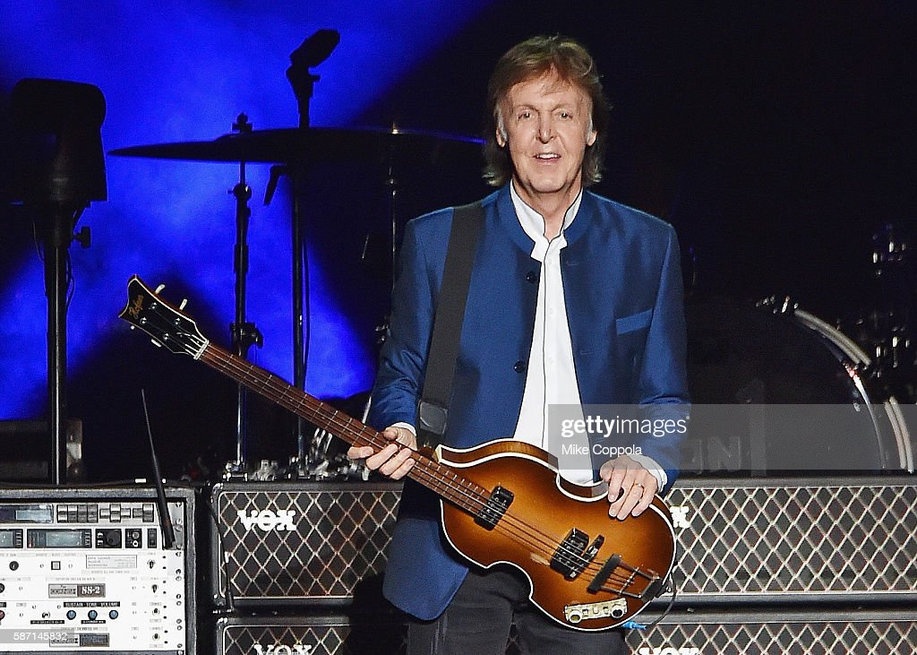 Paul McCartney Performs In Concert At MetLife Stadium On August 7 2016 East Rutherford