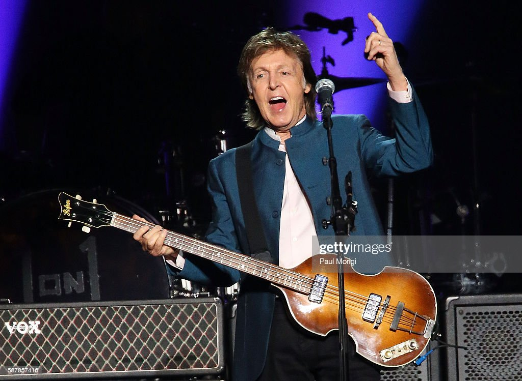 Paul McCartney Performs In Concert At The Verizon Center On August 9 2016 Washington