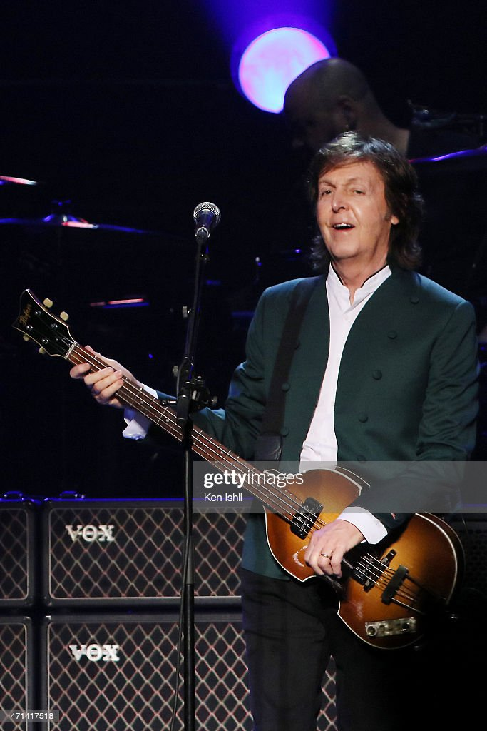 Paul McCartney Out There Tour 2015 : Nieuwsfoto's