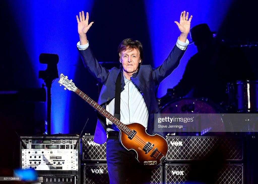 Paul McCartney Performs At Save Mart Center