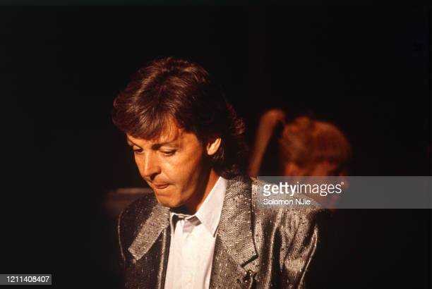 Paul McCartney Prince's Trust 20 June 1986 Wembley Arena