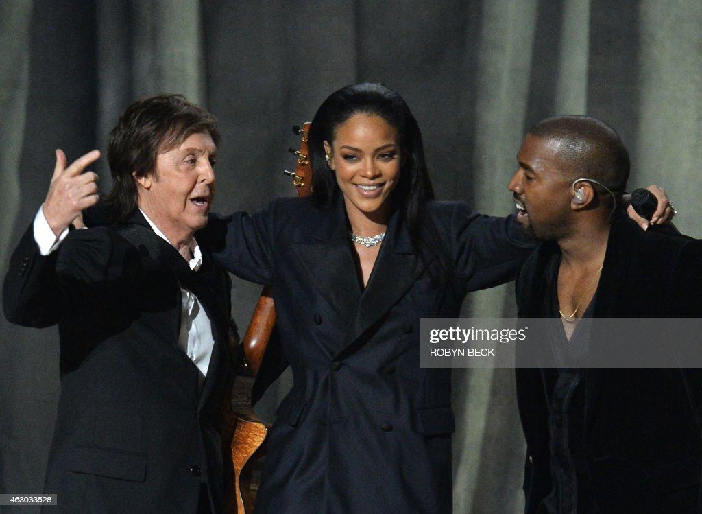 US-MUSIC-GRAMMY AWARDS-SHOW : News Photo