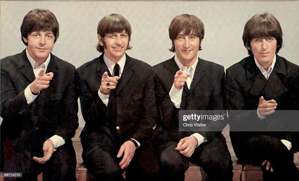 Paul McCartney, Ringo Starr, John Lennon and George Harrison at Top Of The Pops