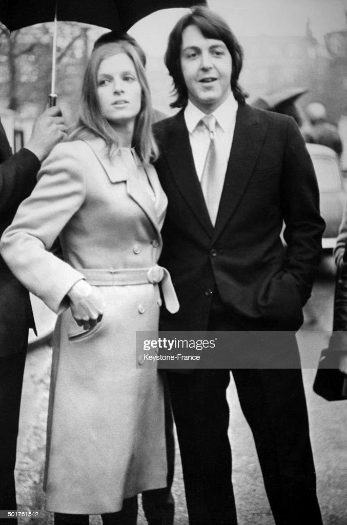 Paul McCartney 26 The Last Bachelor Beatle Was Married At Marylebone Register Office Today