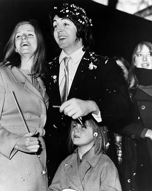 Wedding Of Paul McCartney And Linda Eastman