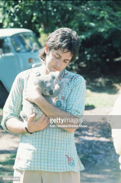 Paul McCartney with koala at Lone Pine Koala Sanctuary November 11 Brisbane AUnited Statestralia