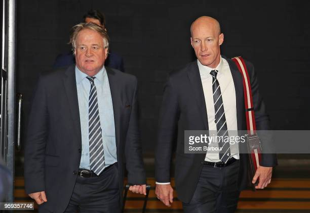 Paul McDermott Instructing Solicitor for the Carlton Football Club and Andrew McKay General Manager Football Operations at the Carlton Football Club...