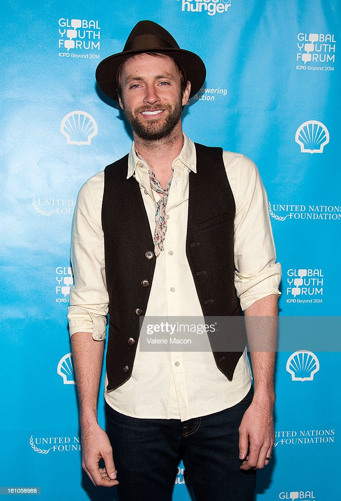 Paul McDonald arrives at the mPowering ActionPre-GRAMMY Launch Event at The Conga Room at L.A. Live on February 8, 2013 in Los Angeles, California.