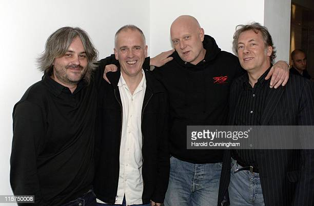 """Paul McEvoy, Ian Rattray, Alan Jones and Greg Day during Zone Horror's """"When Evil Calls"""" Halloween Launch - October 31, 2006 at Institute of..."""