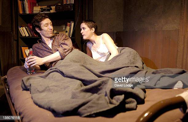 Paul McGann and Catherine Cusack during The Gigli Concert Photocall at The Finborough Theatre in London Great Britain