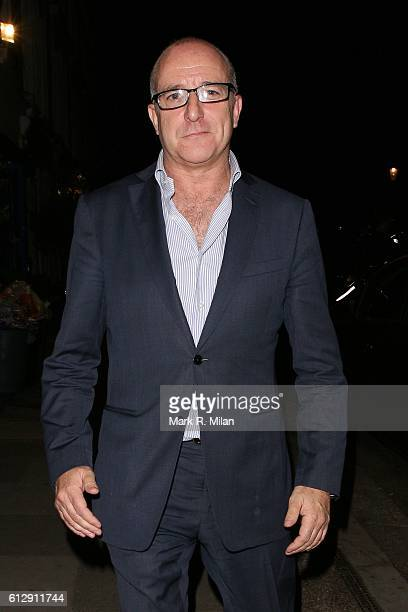 Paul McKenna at La Famiglia restaurant for Simon Cowells Birthday on October 5 2016 in London England