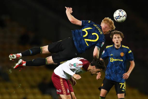 GBR: Bradford City v Manchester United U21 - Papa John's Trophy