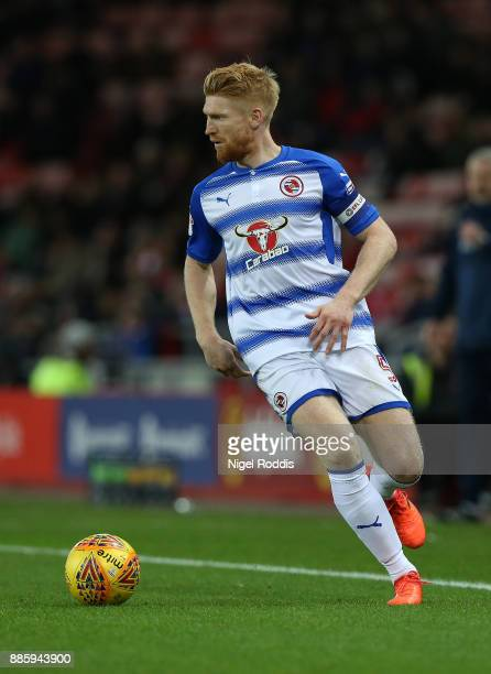 Paul McShane of Reading during the Sky Bet Championship match between Sunderland and Reading at Stadium of Light on December 2 2017 in Sunderland...